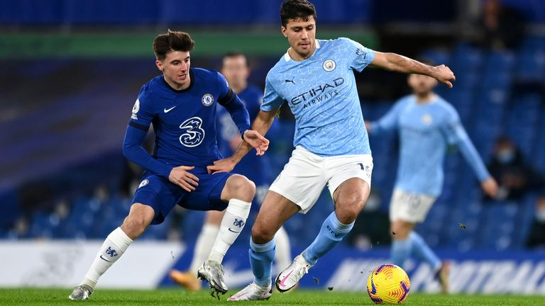 Manchester City beat Chelsea 3-1 in the Premier League on Sunday