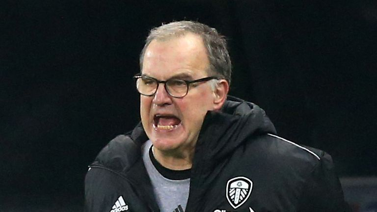 Marcelo Bielsa's contract with Leeds expires at the end of the season