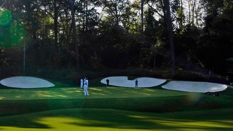 It is hoped some patrons will be allowed to attend the Masters in April