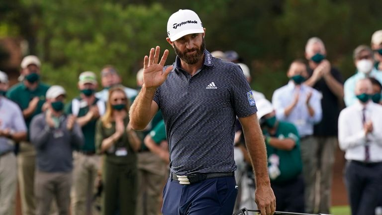 Dustin Johnson won his first Masters tournament in November