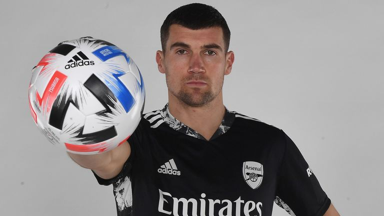 Mat Ryan has joined Arsenal on loan from Brighton for the rest of the season
