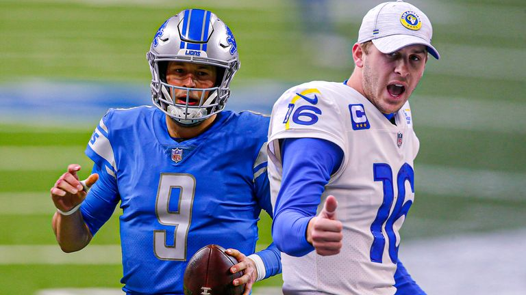 Matthew Stafford and Jared Goff are part of a blockbuster trade