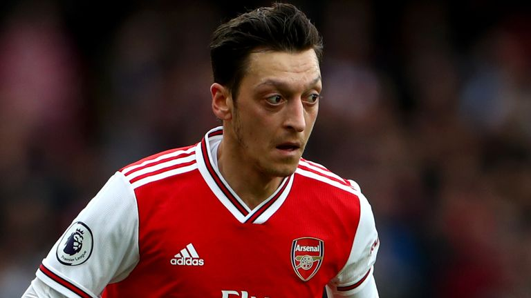 Mesut Ozil hosted a Q&A session on his Twitter account on Monday regarding his future at Arsenal