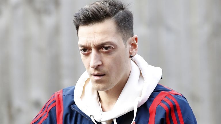 Mesut Ozil file photo