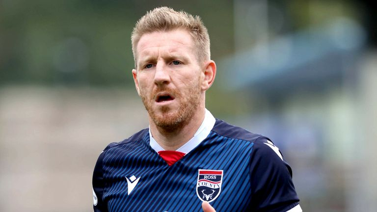 Michael Gardyne has been charged by the SFA following a clash with Rangers' Alfredo Morelos