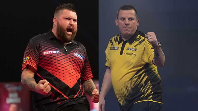 Michael Smith and Dave Chisnall are among the players hoping to complete the Premier League field for 2021