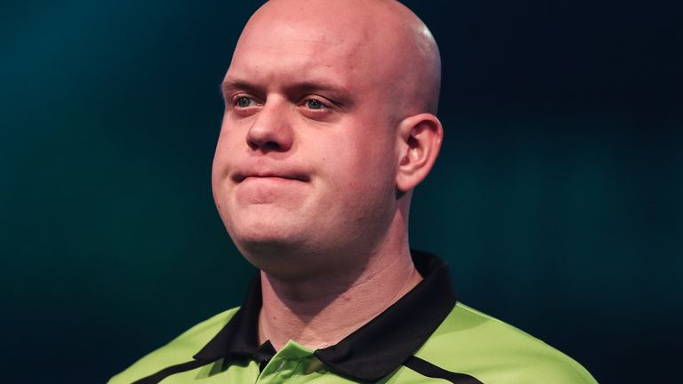 Price's world title triumph ended Van Gerwen's seven-year monopoly as world No 1