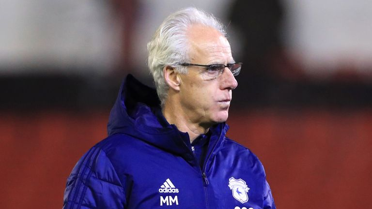 Mick McCarthy is still waiting for his first victory as Cardiff boss