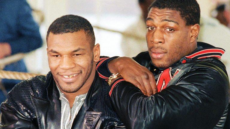Mike Tyson, Frank Bruno