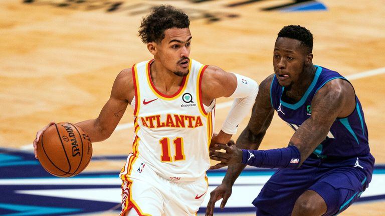NBA Highlights: Hornets v Hawks