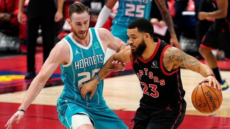 NBA Hls: Hornets v Raptors.