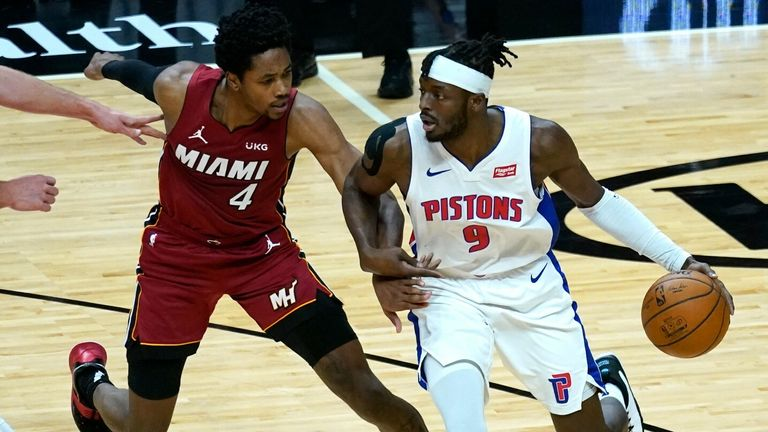 NBA Hls: Pistons v Heat