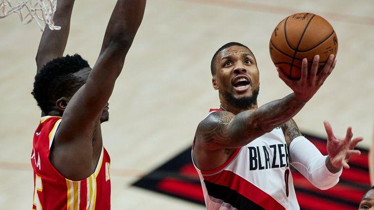 NBA Hls: Trail Blazers v Hawks