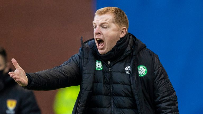 Celtic manager Neil Lennon has been criticised by supporters this season