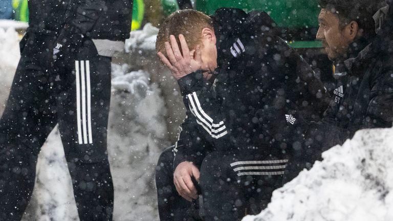 Neil Lennon's Celtic are 20 points behind league leaders Rangers