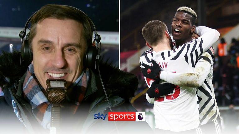 Neville on Utd