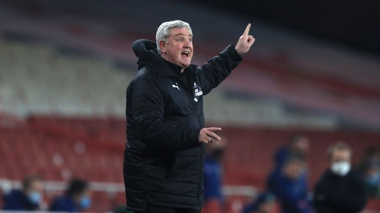 PA - Newcastle manager Steve Bruce