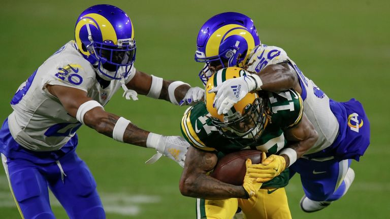 NFL highlights: Packers v Rams
