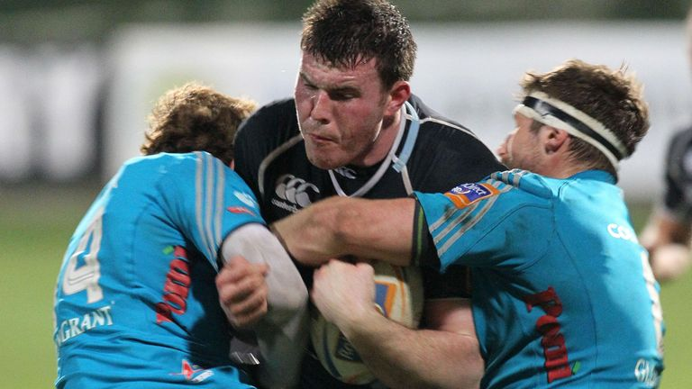 Nick Campbell in action for Glasgow