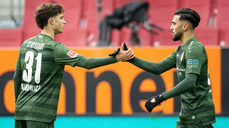 22-year-old Nicolas Gonzalez has kept up his scoring form this season with five goals in 10 Bundesliga games