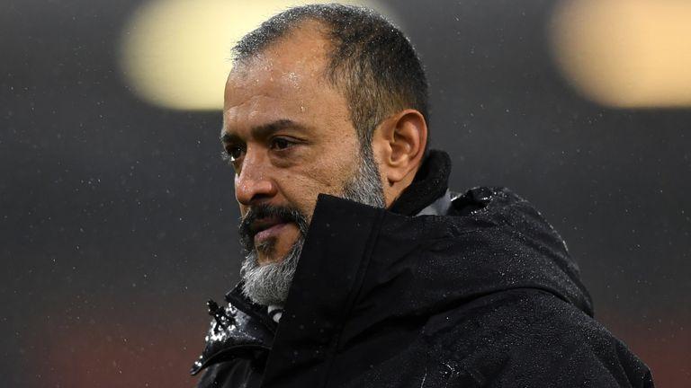 PA - Wolves boss Nuno Espirito Santo