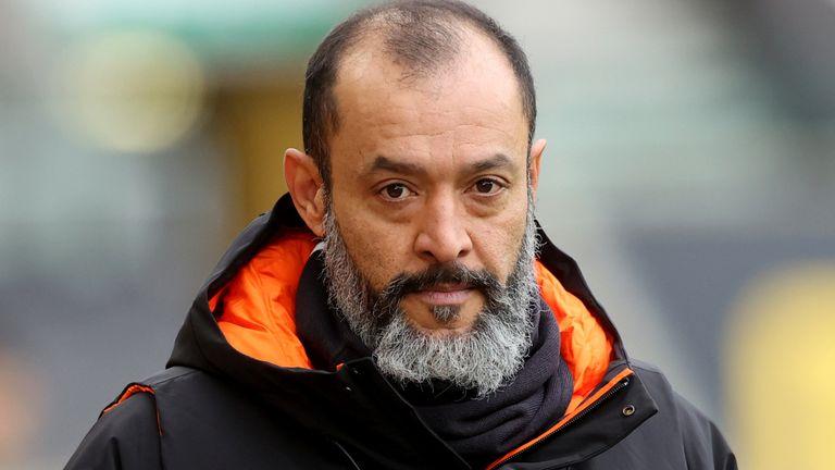 Wolves boss Nuno Espirito Santo (PA Image)