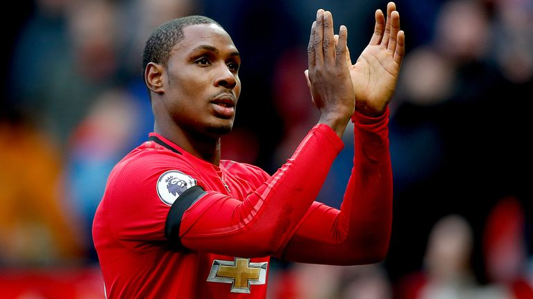 Odion Ighalo scored four goals in his first three starts for Manchester United