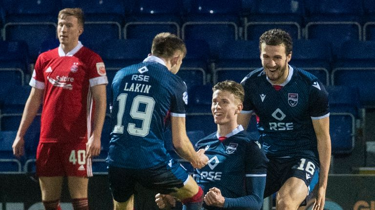 Ross County 4-1 Aberdeen: Staggies climb off foot of the table | Football  News | Sky Sports
