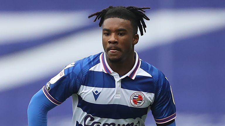 Reading's Omar Richards