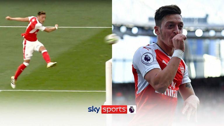 Ozil Arsenal Goals