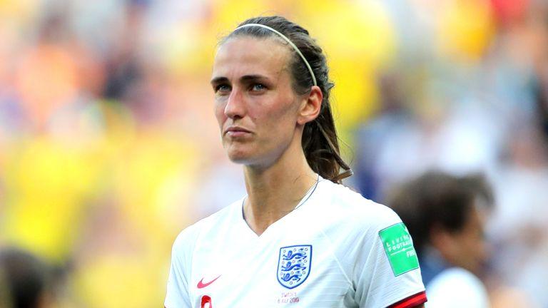 PA - England Women midfielder Jill Scott