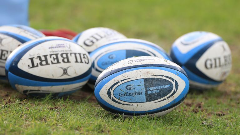Generic image of Gallagher Premiership rugby balls