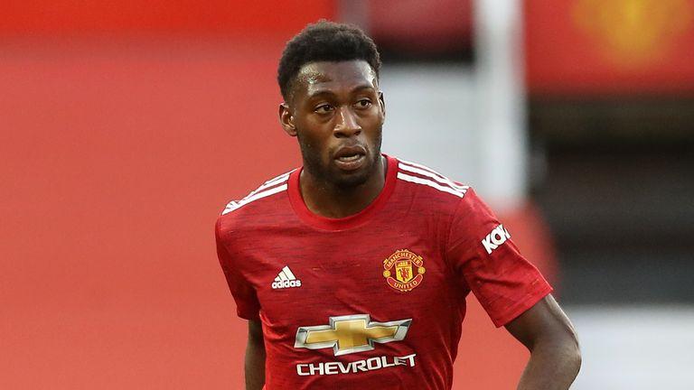 PA - Manchester United defender Timothy Fosu-Mensah