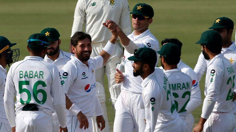 Pakistan and Yasir Shah (Associated Press)