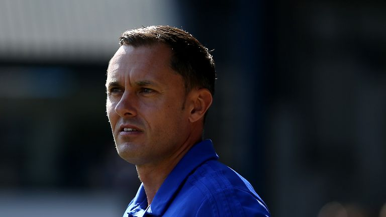 "Ipswich Town manager Paul Hurst during the Sky Bet Championship match at Portman Road, Ipswich. PRESS ASSOCIATION Photo. Picture date: Sunday September 2, 2018. See PA story SOCCER Ipswich. Photo credit should read: Steven Paston/PA Wire. RESTRICTIONS: EDITORIAL USE ONLY No use with unauthorised audio, video, data, fixture lists, club/league logos or ""live"" services. Online in-match use limited to 120 images, no video emulation. No use in betting, games or single club/league/player publications."