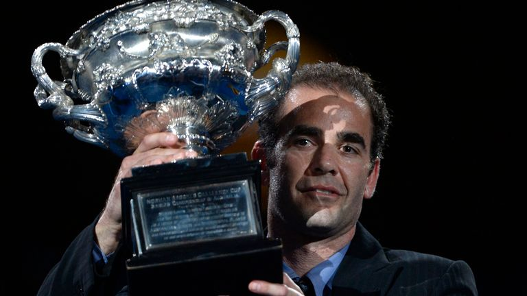 Pete Sampras won two of his 14 Grand Slams in Melbourne