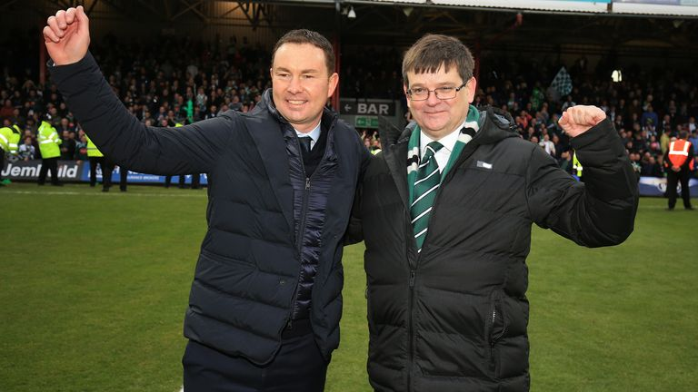 He guided Plymouth to promotion from Sky Bet League One in 2017