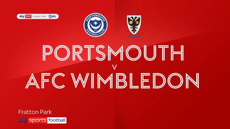 Portsmouth v AFC Wimbledon