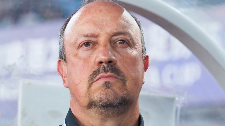 Rafa Benitez was appointed as manager of Chinese Super League club Dalian Professional in July 2019, shortly after leaving Newcastle