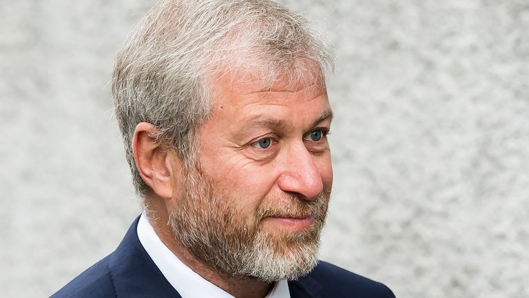 Chelsea owner Roman Abramovich (AP image)