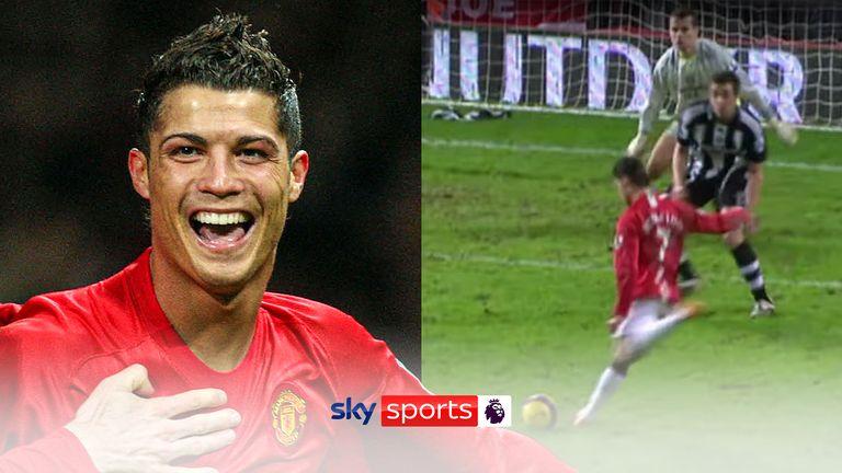 Cristiano Ronaldo hat trick v Newcastle 2008