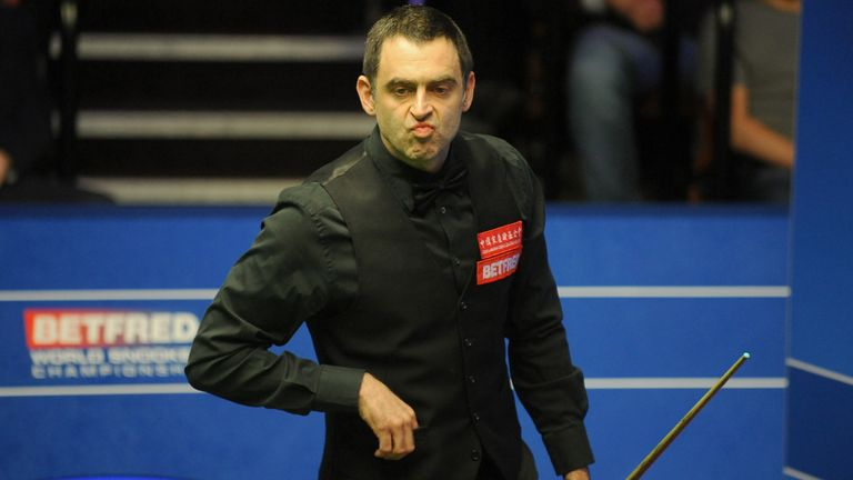 O'Sullivan has been spending six hours a day on the practice table as well as running 45 miles a week