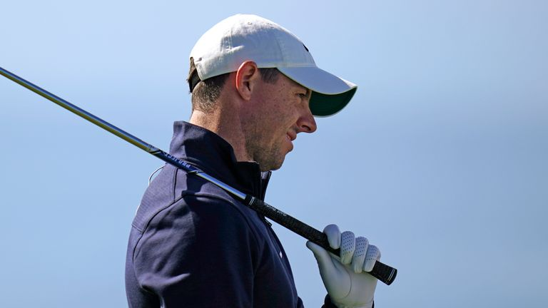 McIlroy was disappointed with his back-nine performance
