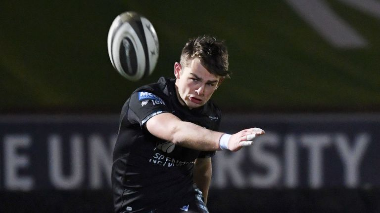 Ross Thompson kicked three crucial penalties and two conversions in the win at Scotstoun