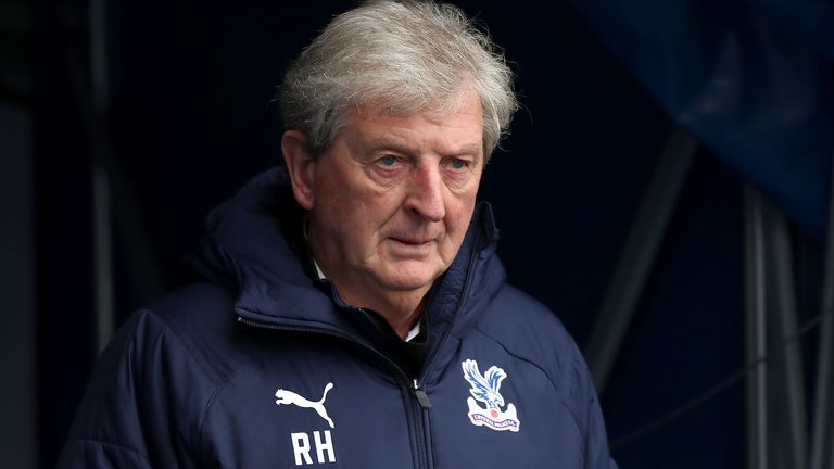 File photo dated 26-09-2020 of Crystal Palace manager Roy Hodgson.