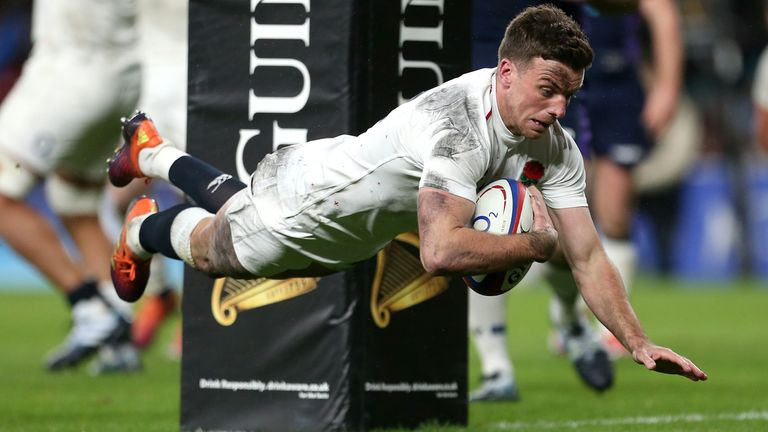 Ford's late try at Twickenham in 2019 snatched a 38-38 draw for England