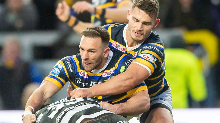 Ward's final appearance for Leeds came against Hull FC in the opening game of the 2020 Super League season