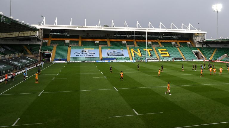 Northampton were due to play Leicester at Franklin's Gardens on Saturday