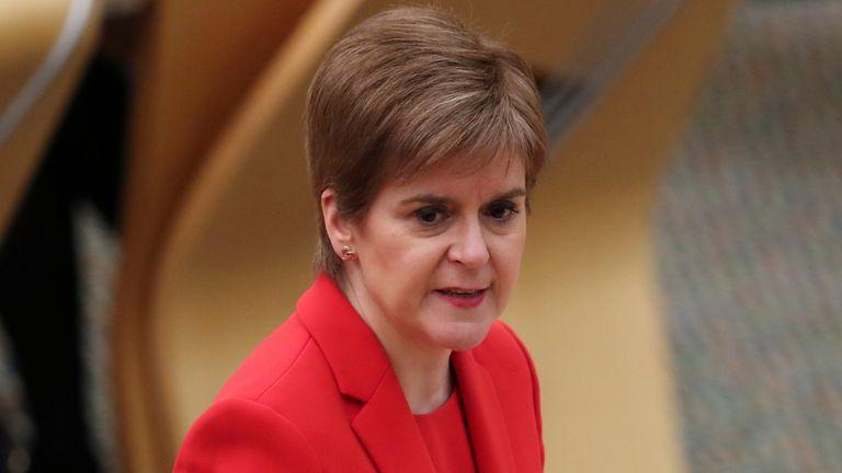 Nicola Sturgeon has instructed Scottish professional sport to remain vigilant towards elite sport's coronavirus regulations