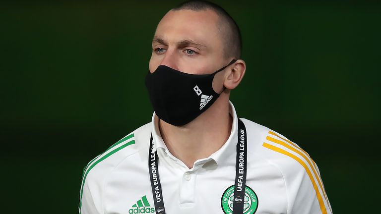 Scott Brown has also missed Celtic's last two matches